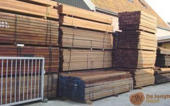 hardhouten palen - houthandel noord holland